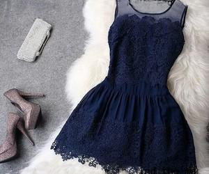 beautifull, blue, and black image