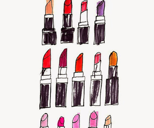 lipstick and wallpaper image