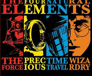 harry potter, doctor who, and star wars image