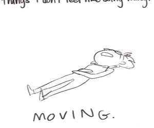 Lazy, funny, and moving image