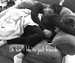 just friends, friends, and love image