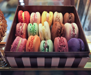 diet, french, and macaron image