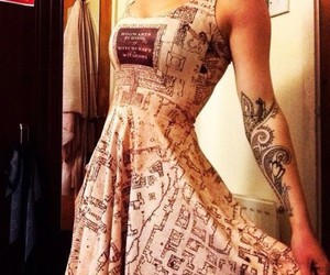 dress, harry potter, and book image