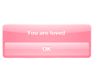 overlay, loved, and pink image