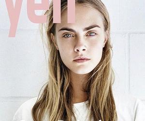 model, cara delevingne, and magazine image