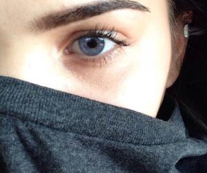 girl, eyes, and eye image