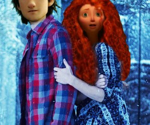 brave, cute couple, and disney image