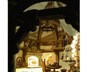 concept art, rapunzel, and tangled image