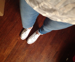 converse, express, and jeans image