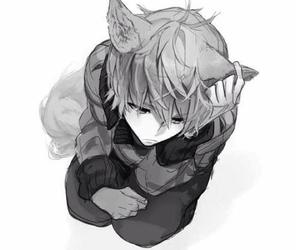 anime, dark, and depressive image