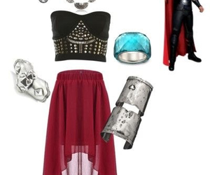 thor, outfit, and Avengers image