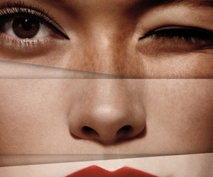 lips, face, and beauty image