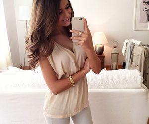 adorable, cream, and fashion image