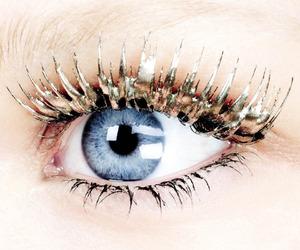 eyelashes, eyes, and blue image