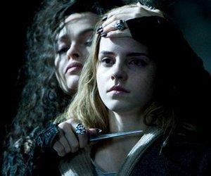 harry potter, hermione granger, and bellatrix lestrange image