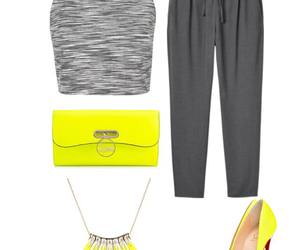fashion, grey, and louboutin image