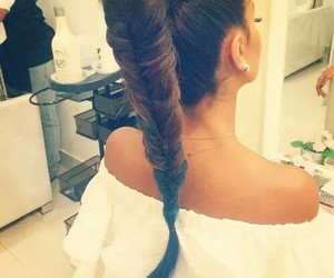 hair, tresse, and swag image