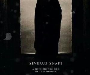 harry potter, severus snape, and slytherin image