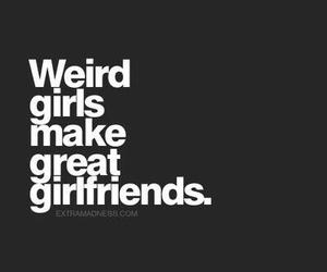 girl, girlfriend, and weird image
