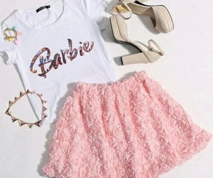 fashion, barbie, and outfit image