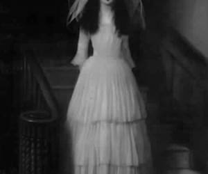 black, doll, and silence image