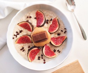 beautiful, breakfast, and chocolate image