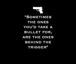 bullet, life, and pistol image