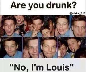 louis tomlinson, one direction, and funny image