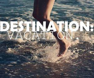 vacation, summer, and beach image