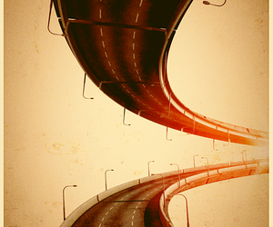 highway and pavement loop image