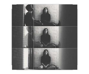 sad, alone, and black image