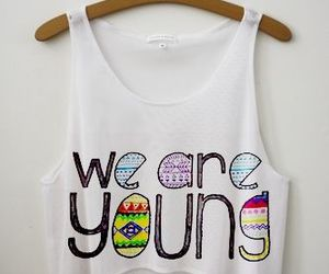 young, we are young, and shirt image