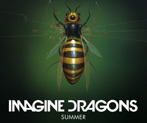 imagine dragons, summer, and music image