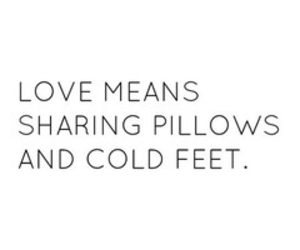 love, quote, and pillow image