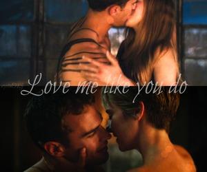 four, tris prior, and love me like you do image