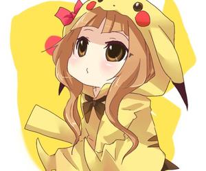 chibi and pikachu image