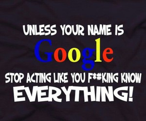 google, funny, and text image