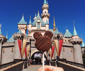 disney, chocolate, and disneyland image