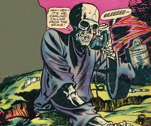 comic, Halloween, and scary image