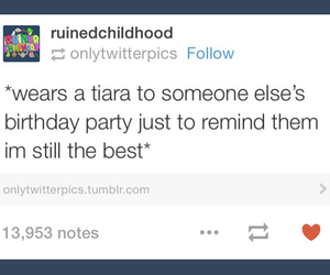 birthday party, funny, and hilarious image