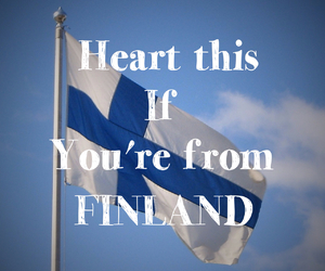 country, finnish, and flag image