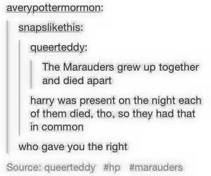 feels, funny, and harry potter image
