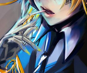 anime, blondie, and blue eyes image