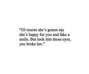 fake, girl, and smile image