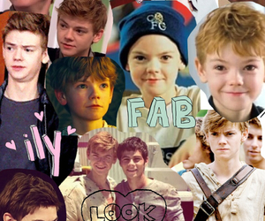 Collage, the maze runner, and thomas brodie-sangster image