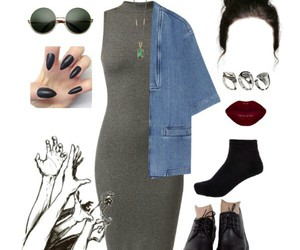 awesome, bun, and clothes image
