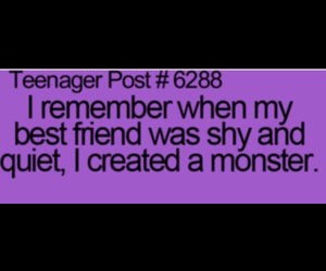 best friends, create, and monster image