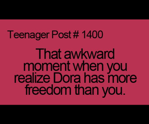 Dora, freedom, and funny image