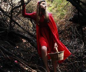 chapeuzinho vermelho, contos de fadas, and red image