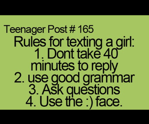 funny, girl, and text image